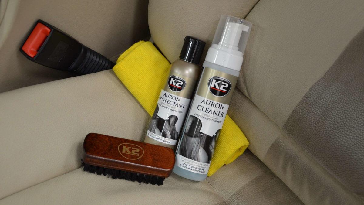 Jak sprzedawać – zestaw do pielęgnacji skórzanej tapicerki K2 Auron?