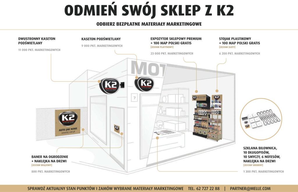 Odmień swój sklep z K2